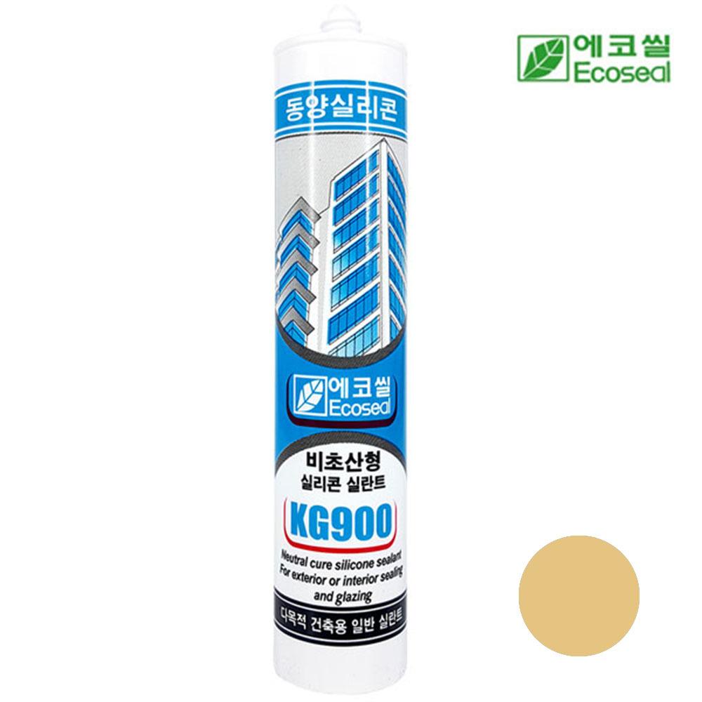 동양 에코씰 비초산형 KG900 실리콘 실란트 우드