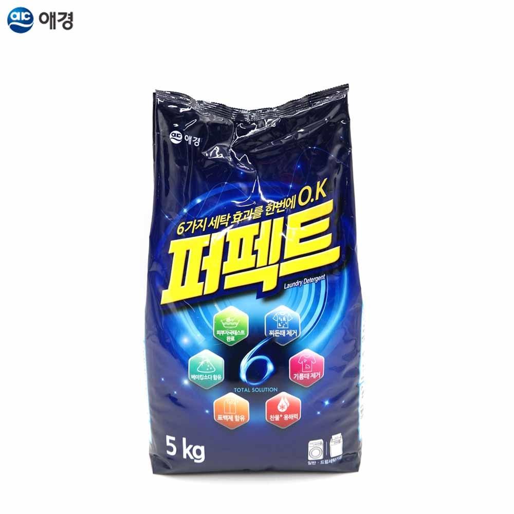 N7 퍼펙트 토탈 솔루션 가루세제 5kg 리필 1EA 겸용