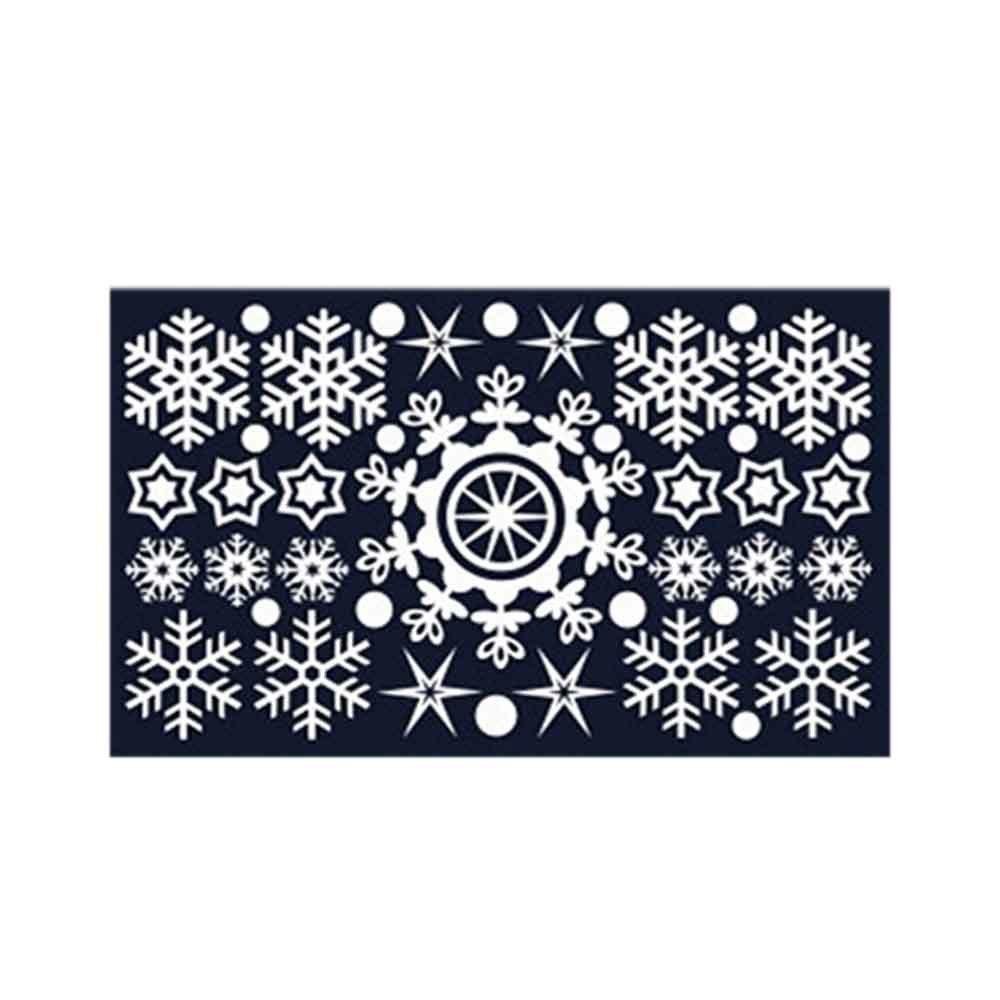 중형 장식 크리스마스 07 스티커 겨울눈꽃