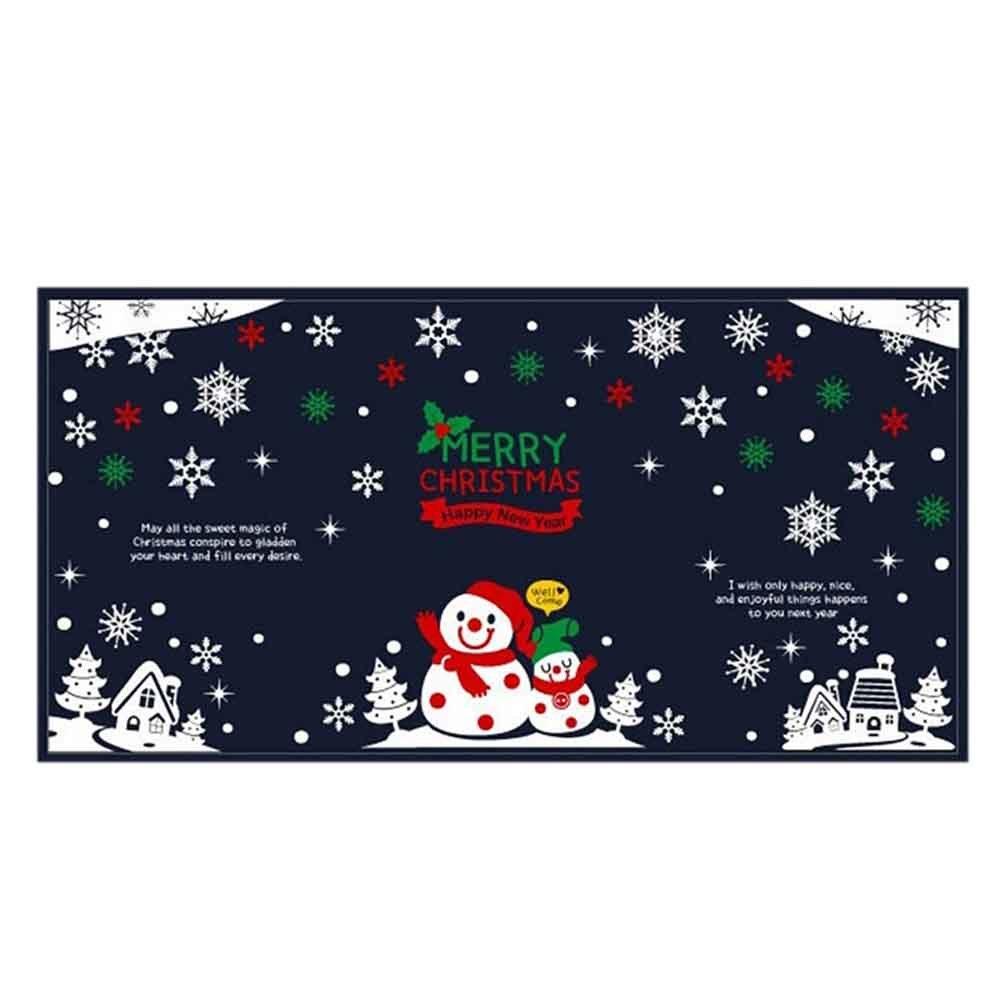 눈사람 동글동글 스티커 초대형 크리스마스 장식