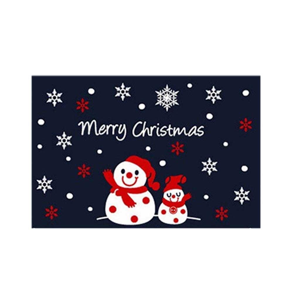 눈사람 장식 동글동글 스티커 크리스마스 중형