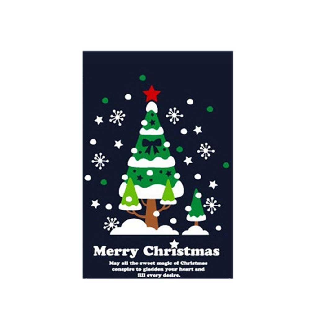 N7 크리스마스 스티커 장식 세모트리 01