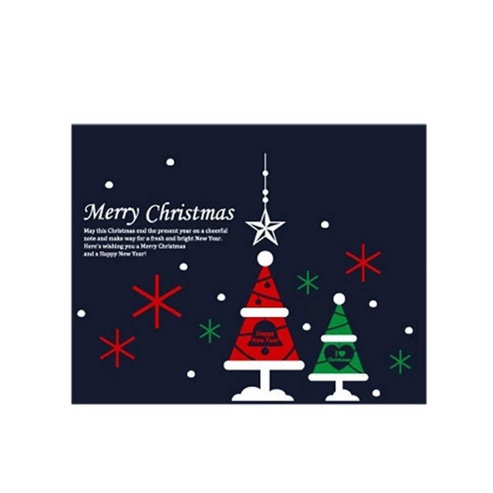 장식 02 스티커 세모트리 크리스마스