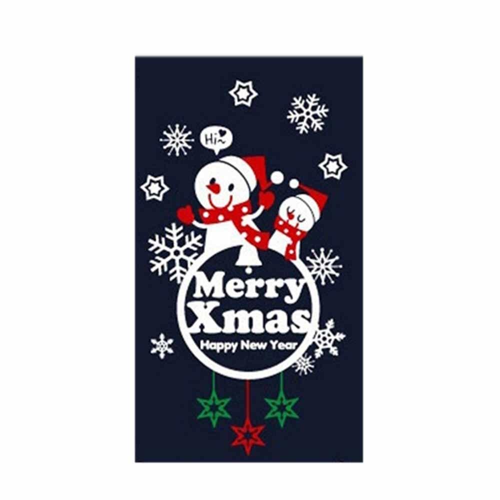 N7 크리스마스 스티커 장식 룰루랄라 눈사람 엠블렘A