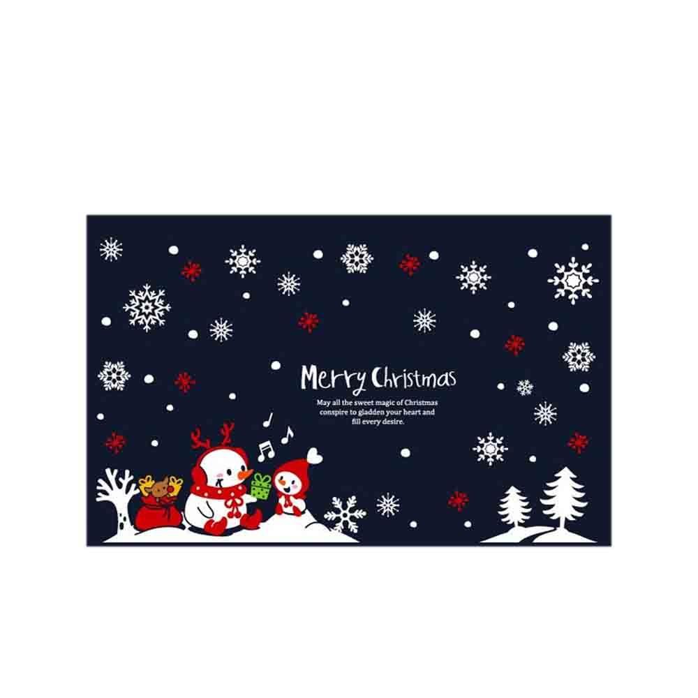 N7 크리스마스 스티커 장식 사랑의 크리스마스선물 대형