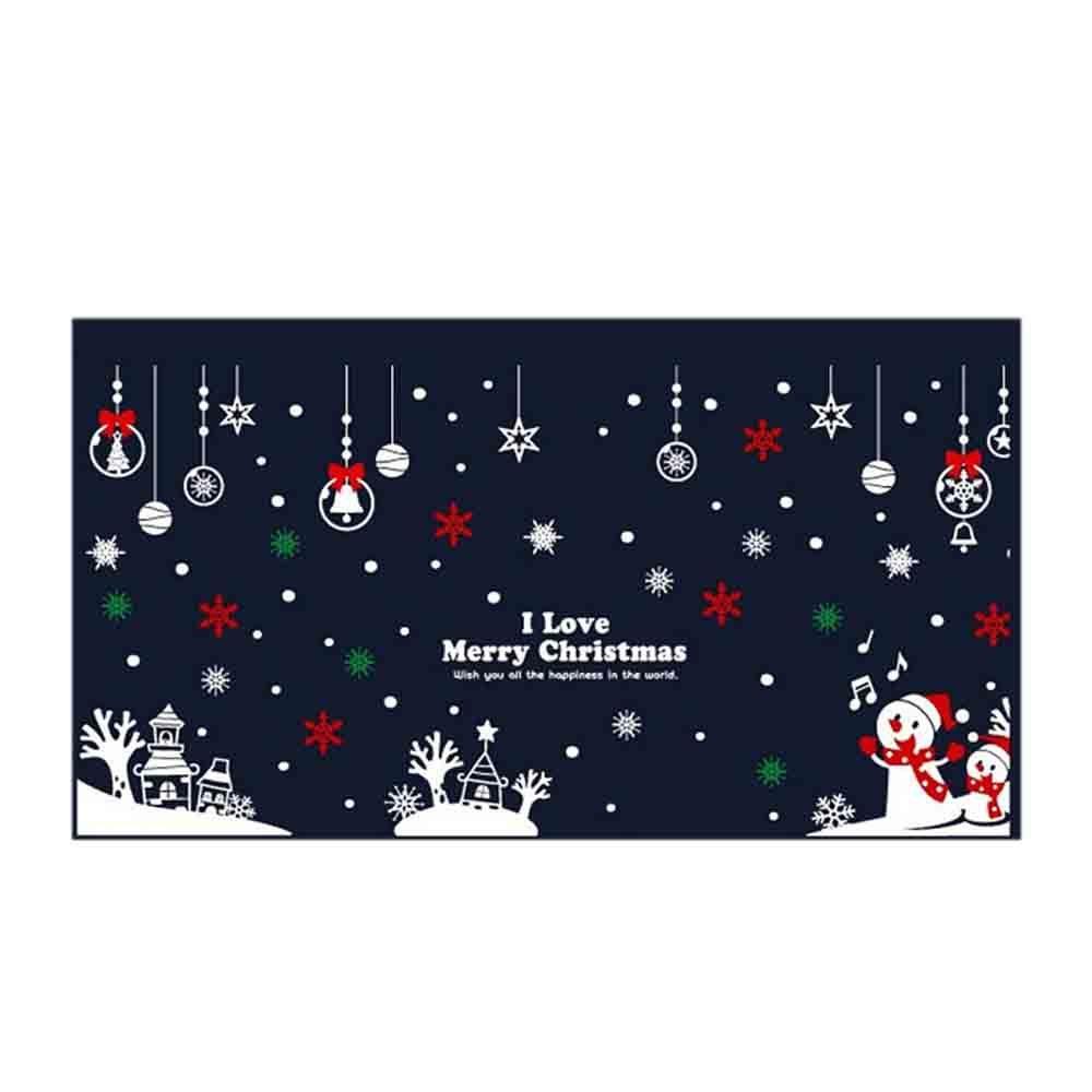 장식 아이러브 성탄절 대형 크리스마스 스티커