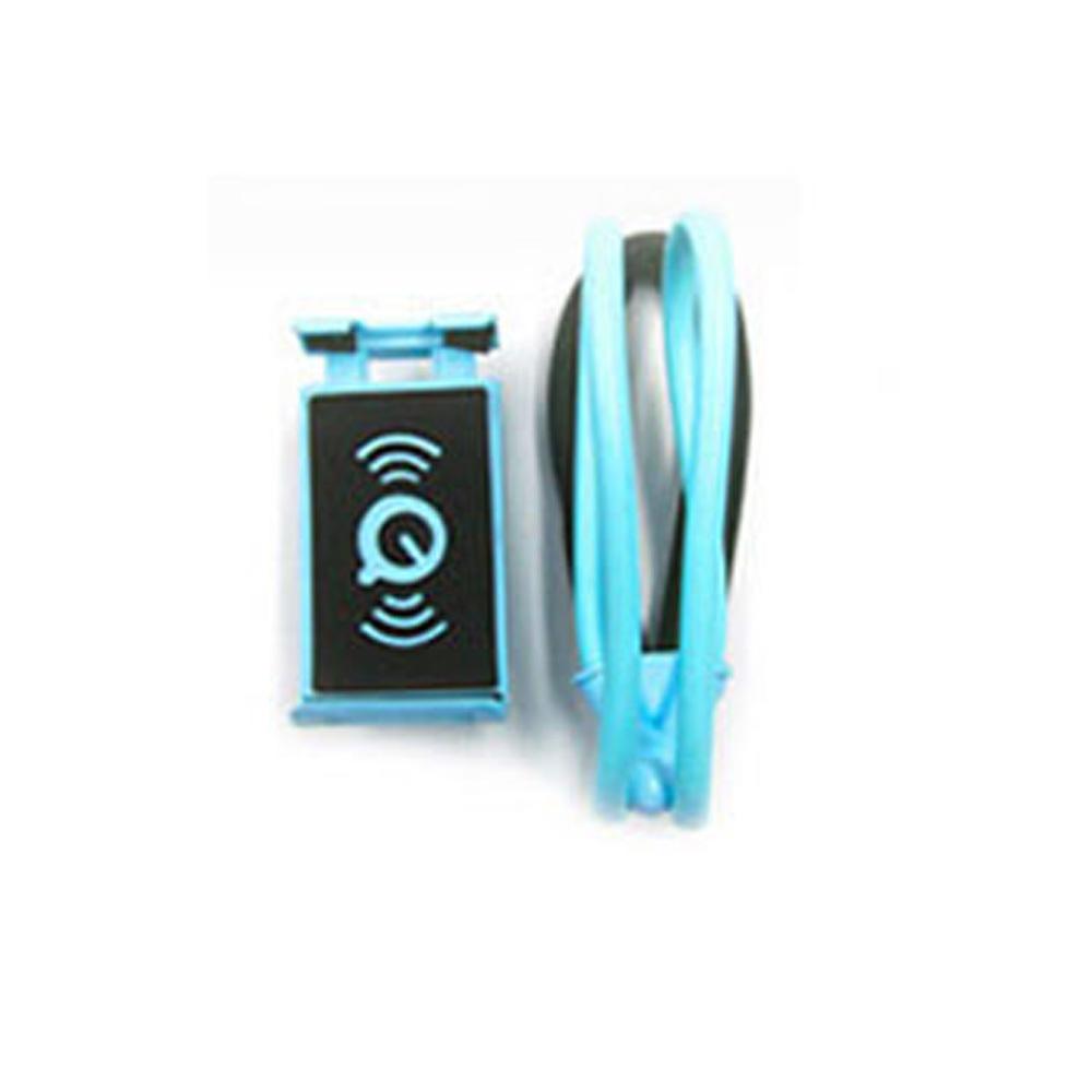 목걸이형 스마트폰 거치대 블루