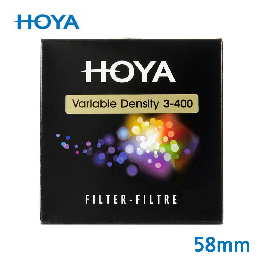 HOYA 호야 VARIABLE DENSITY 가변필터 ND3-400 58mm