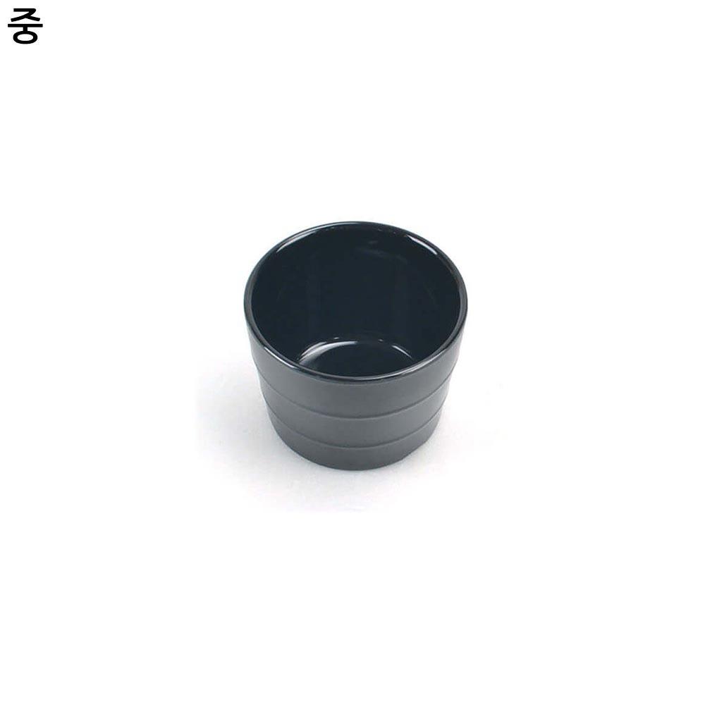 멜라민 퓨전토기 모밀공기 국그릇 중형
