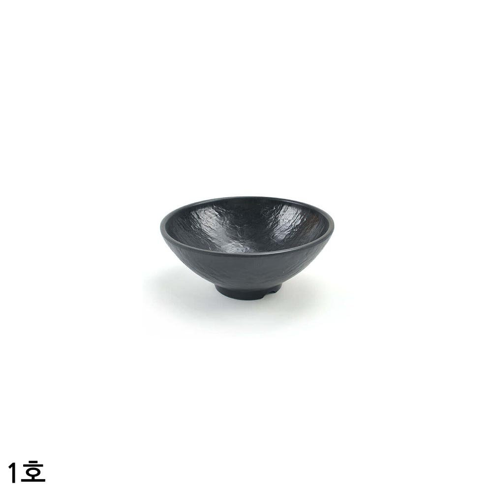멜라민 퓨전토기 운석볼 비빔그릇 대접 1호