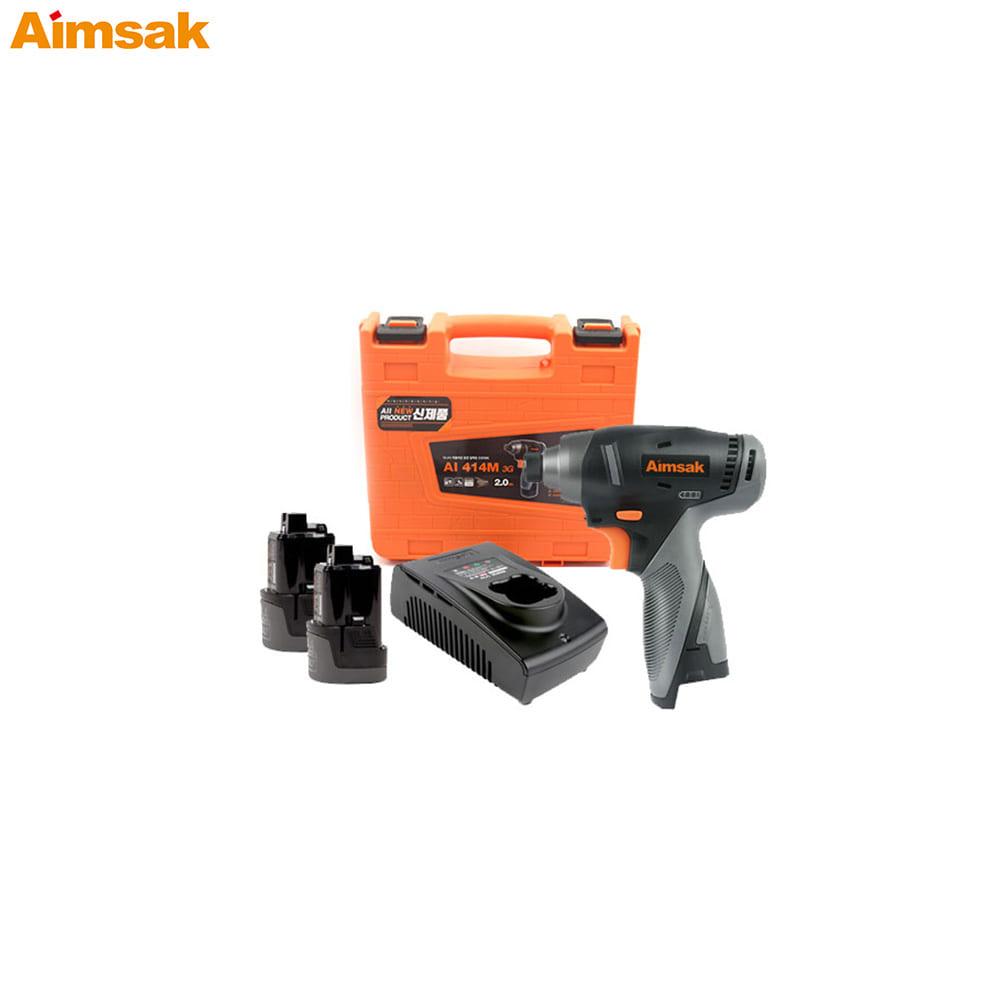 아임삭 충전 임팩트 드라이버 AI414M-3G 14.4V