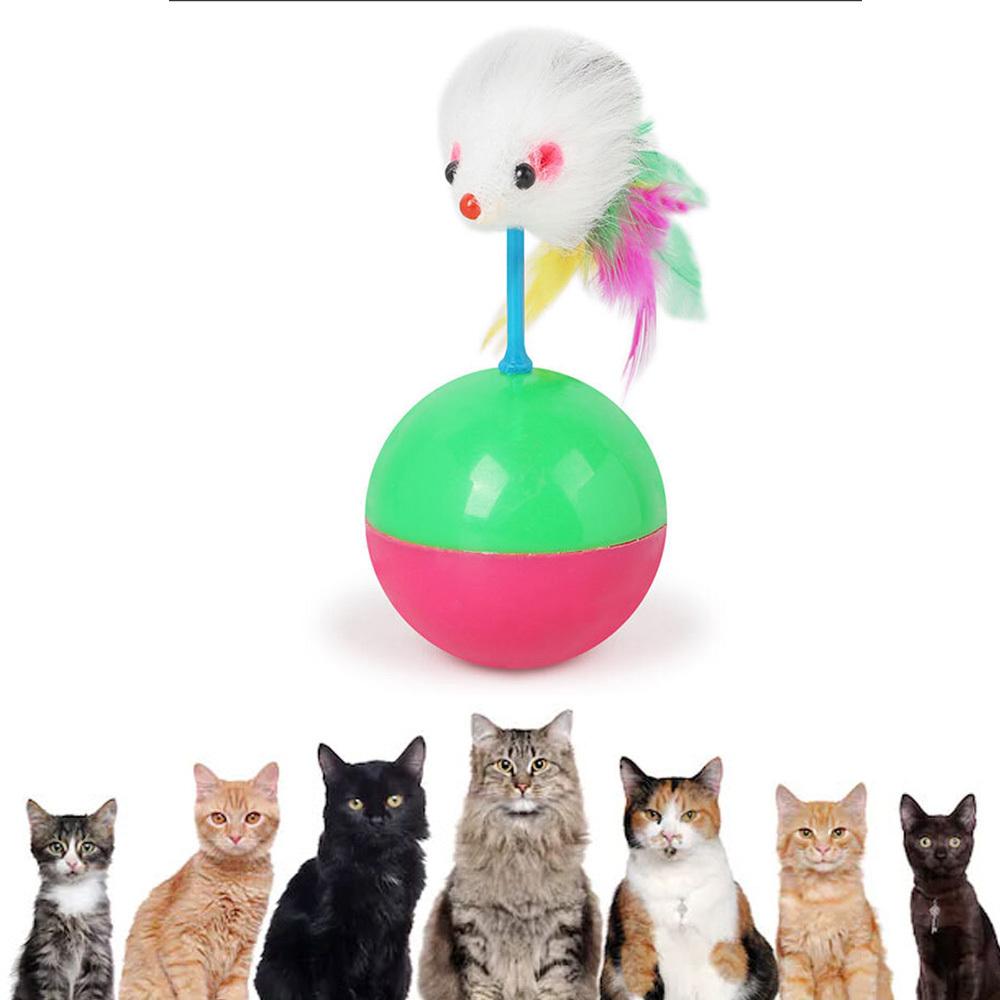 N7 오뚜기 마우스 고양이장난감