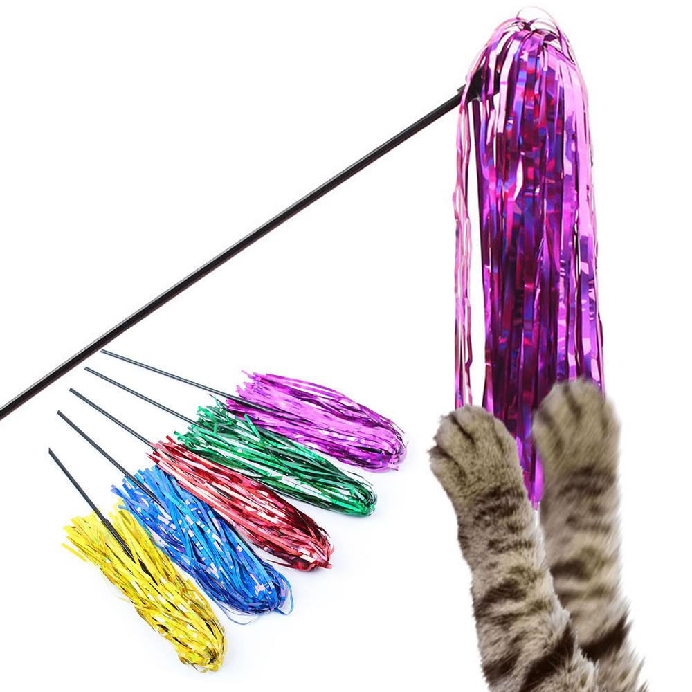 N7 찰랑찰랑 놀이스틱 고양이장난감