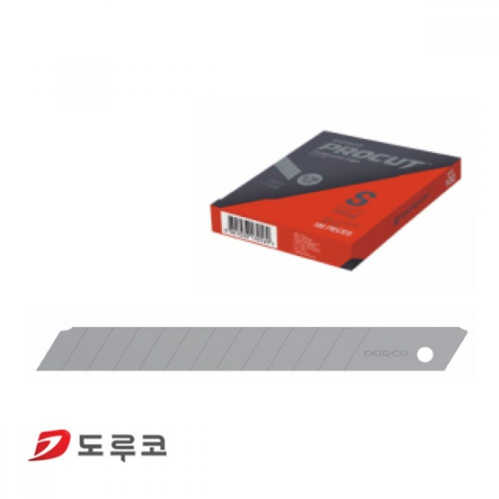 N7 도루코 PROCUT 커터칼 리필용 소형 S 커터날 100개