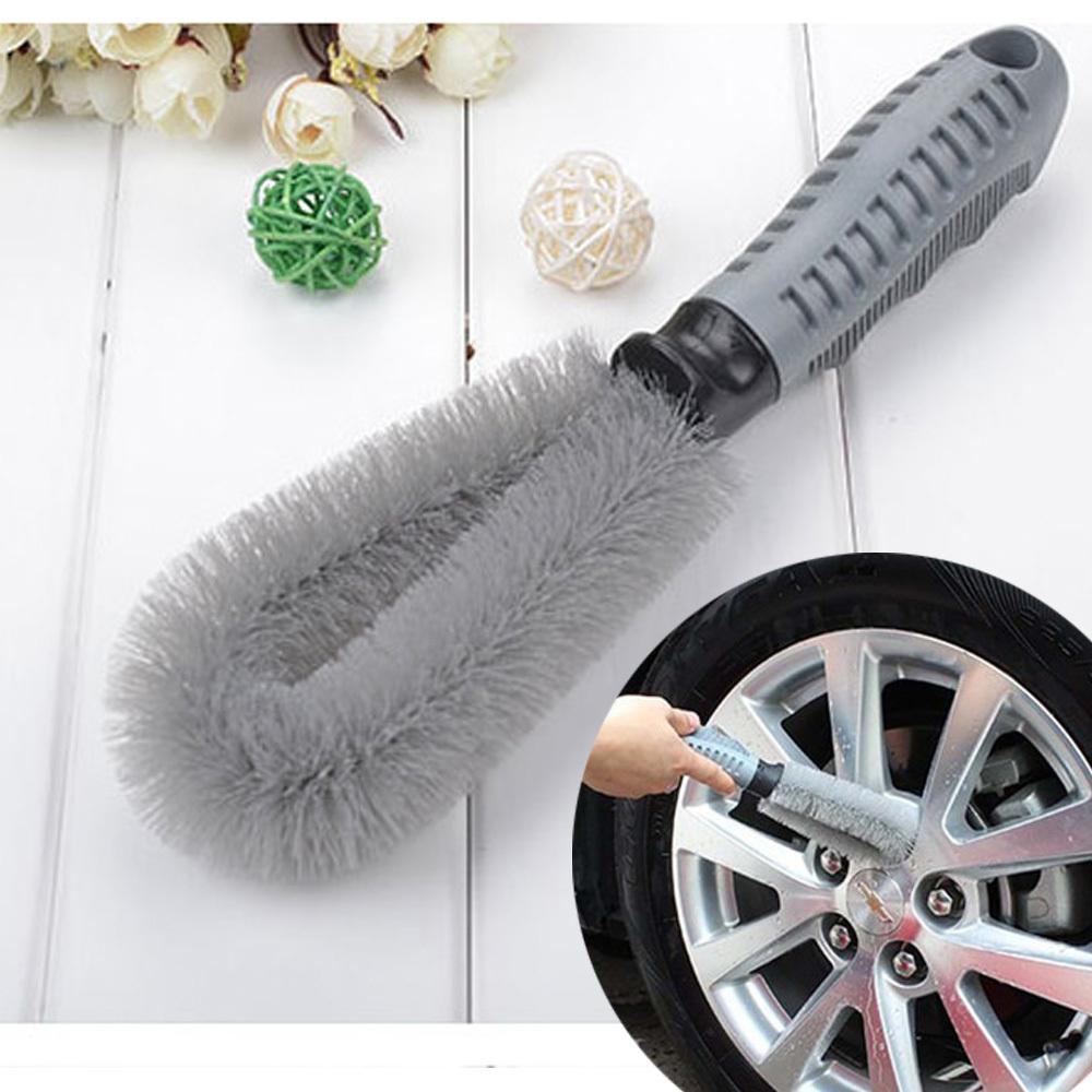 휠 타이어 청소솔