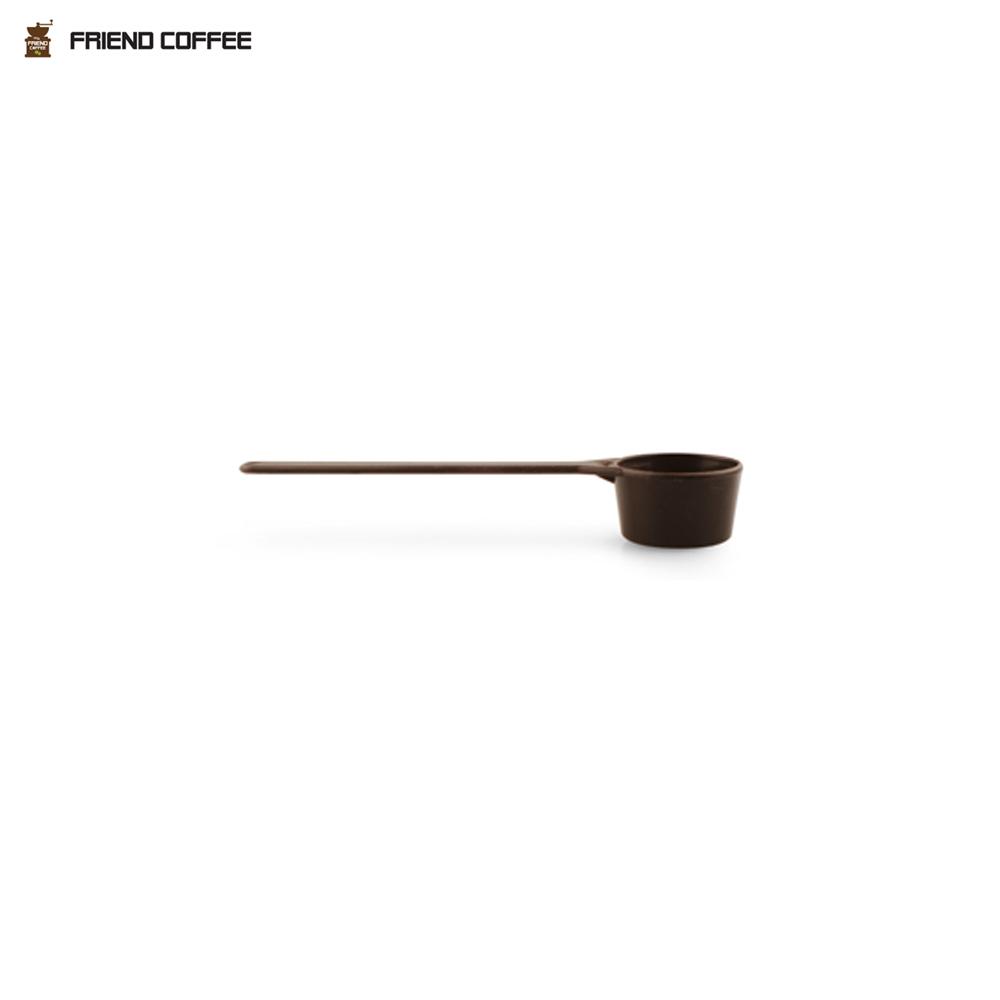 N7 프랜드 커피 계량스푼 8g 다크 브라운 소 1EA