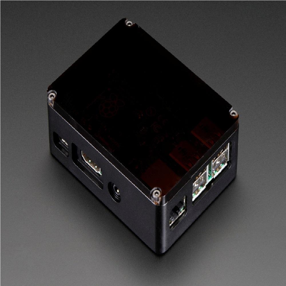 라즈베리파이B+/파이2 - 스모키 탑 블랙케이스 (P005709868)