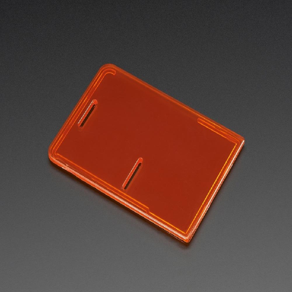 라즈베리파이 모델 B+/파이2/파이3 케이스 뚜껑-오렌지 (P007500274)