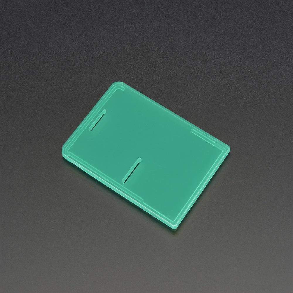 라즈베리파이 모델 B+/파이2/파이3 케이스 뚜껑-녹색 (P007500769)
