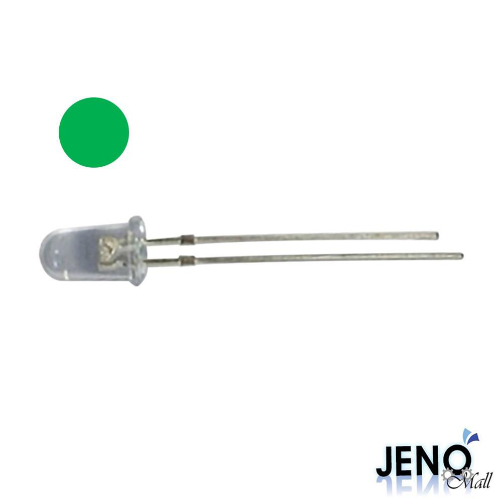 5mm 원형 DIP LED 발광다이오드 그린 515-520nm (HBL0913)