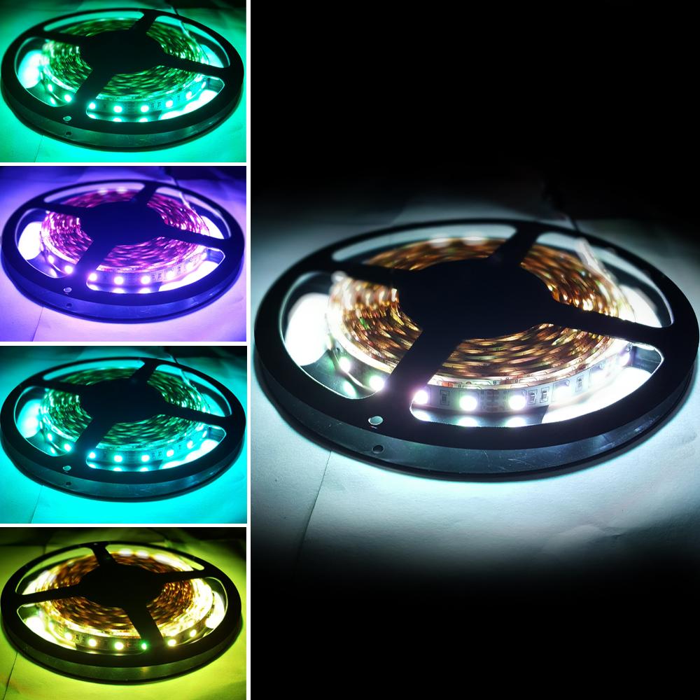 플렉시블 5V RGB 방수 LED 스트립 바 5050-60 10mm (HDL1601)