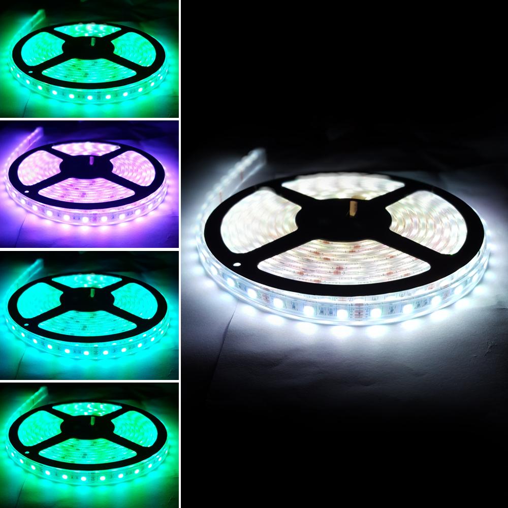 플렉시블 5V RGB 방수 LED 스트립 바 5050-60 13mm (HDL1602)