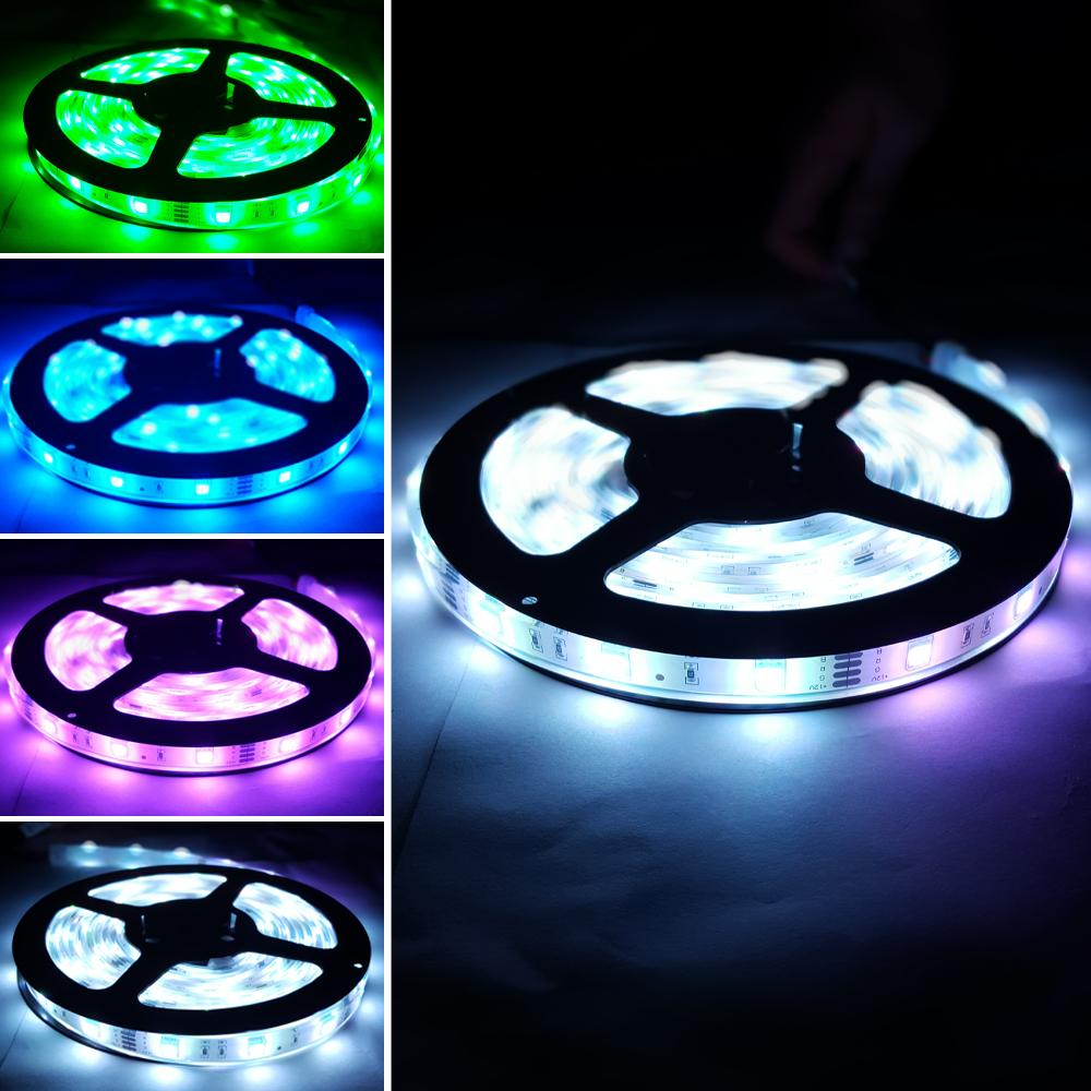플렉시블 12V RGB 방수 LED 스트립 바 5050-30 13mm (HDL1604)