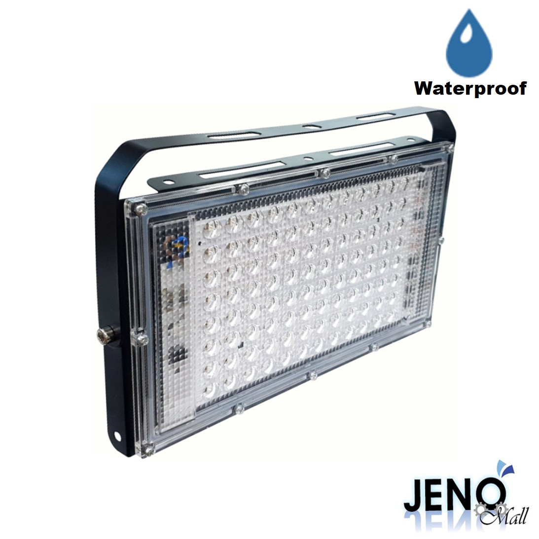 100W 220VAC 395-400nm UV자외선 방수 LED블랙라이트 (HCL3804)