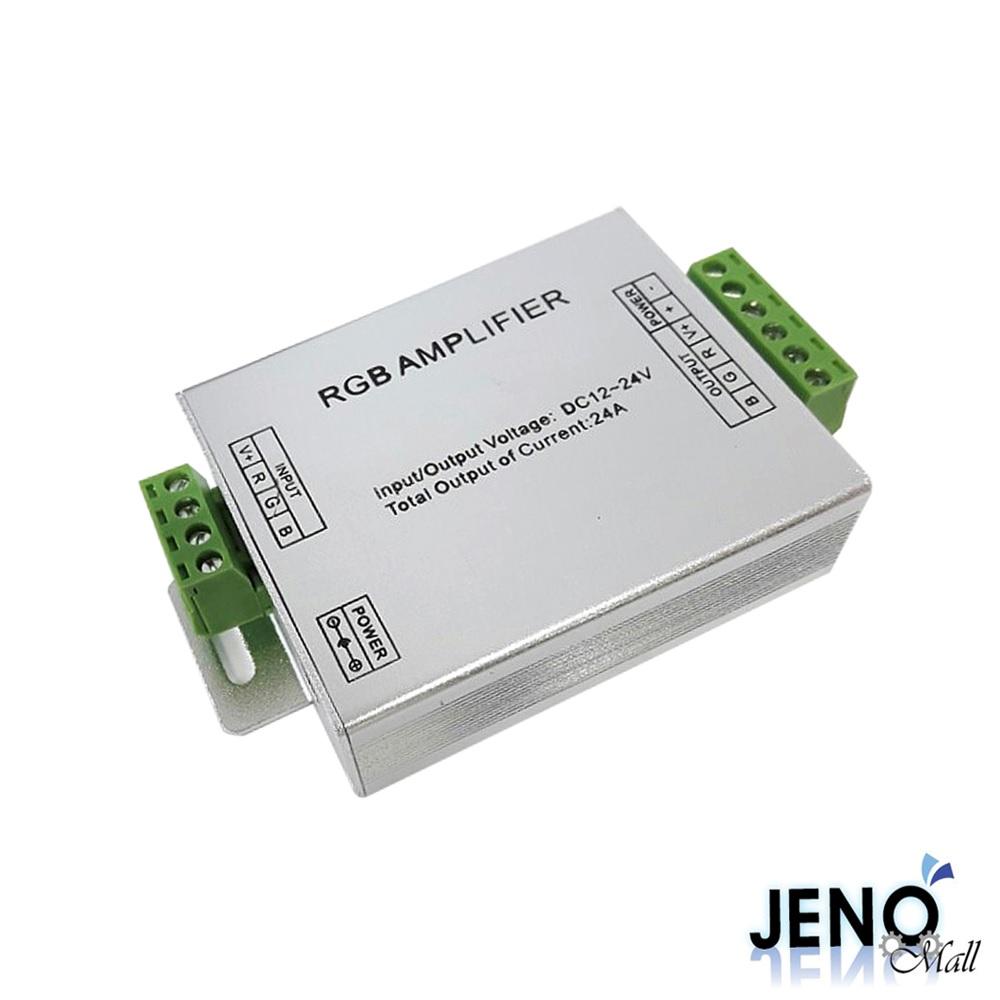 12V 24V RGB LED 3채널 전원 전력 증폭 컨트롤러 24A (HCL5104)