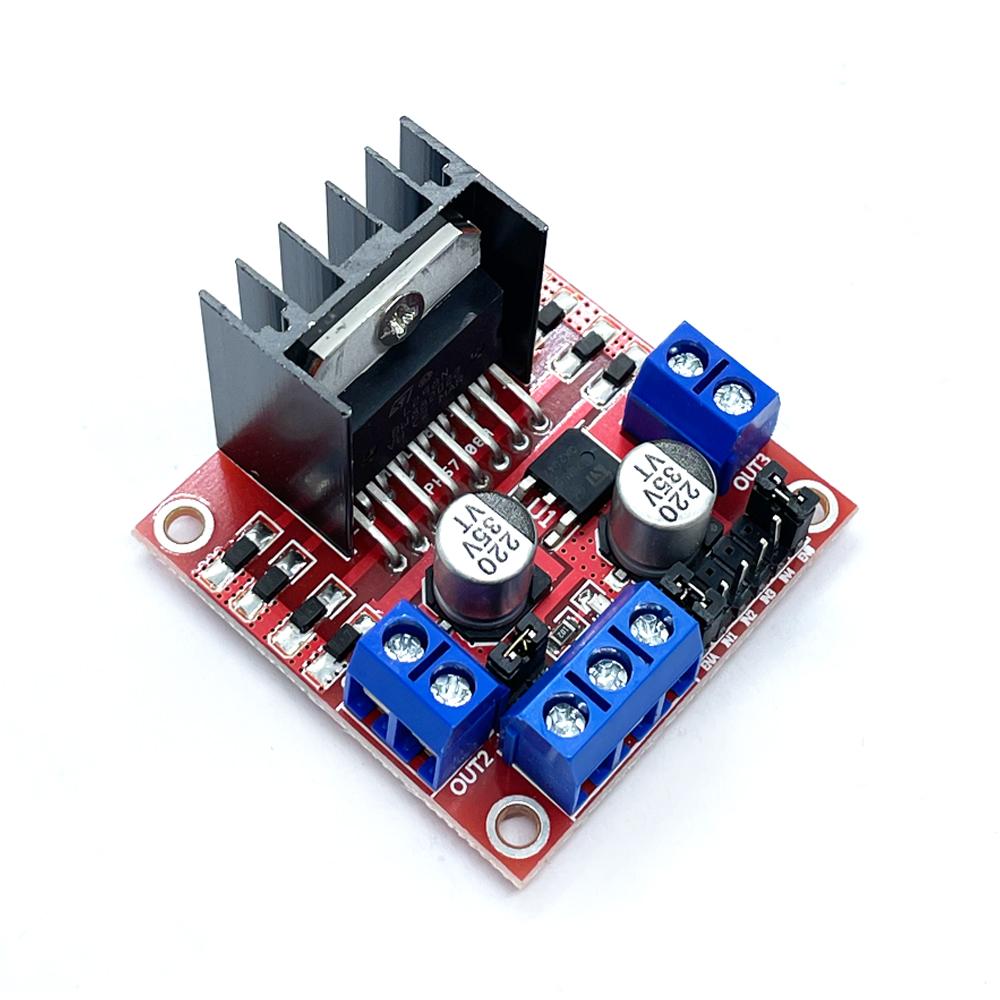 L298 DC 모터 스텝 모터 드라이브(5V-35V 2A) (HAM1418)