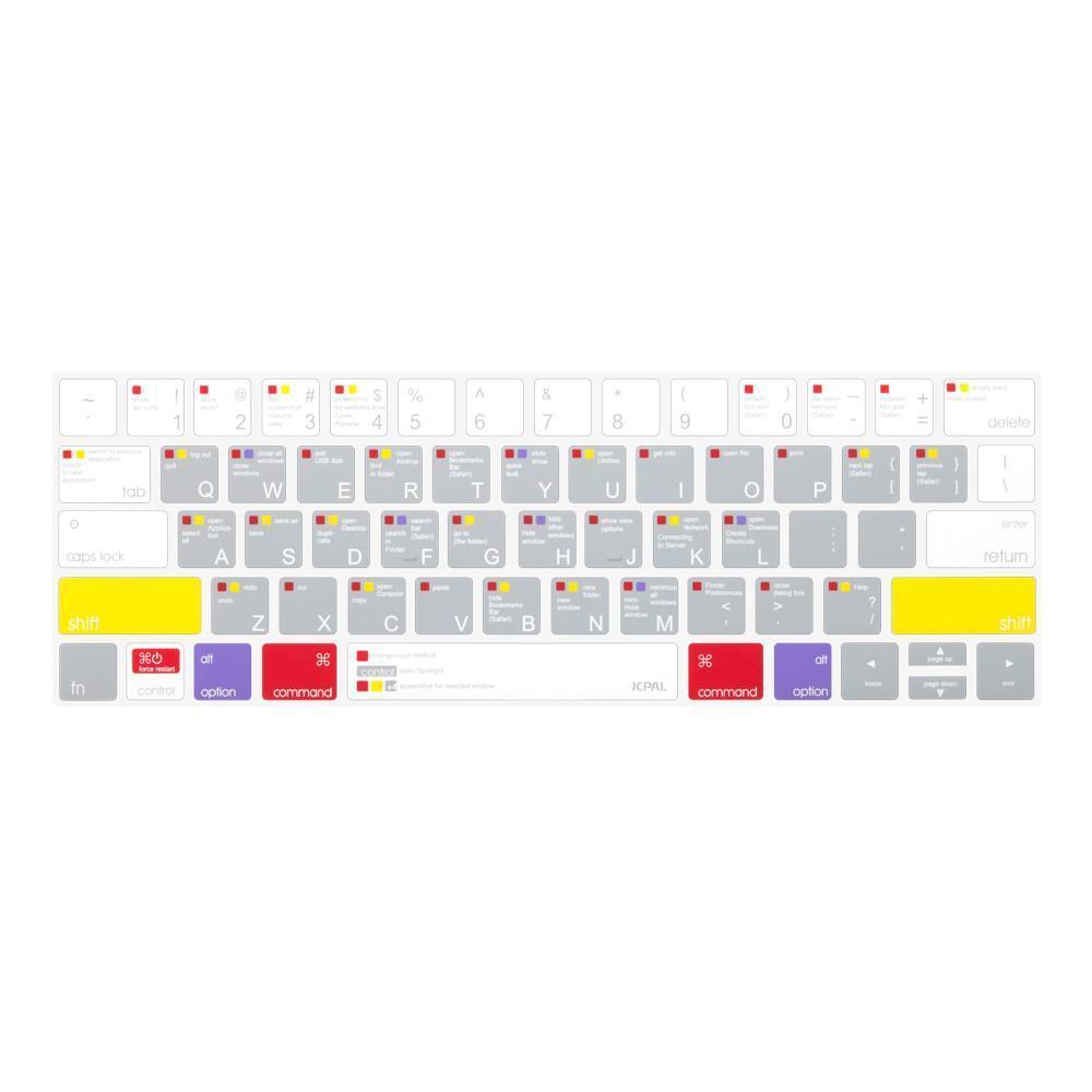 [JCPAL] 단축키 키스킨 MacBook Pro 13/15