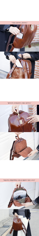 여성소가죽백팩 미니배낭 클래식 여자 여행가방 - 비바시스터, 168,000원, 백팩, 가죽백팩