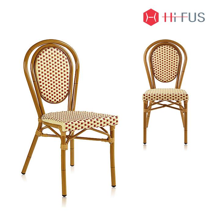 하이퍼스 HFC-3338 파스타 라탄 일반형 의자