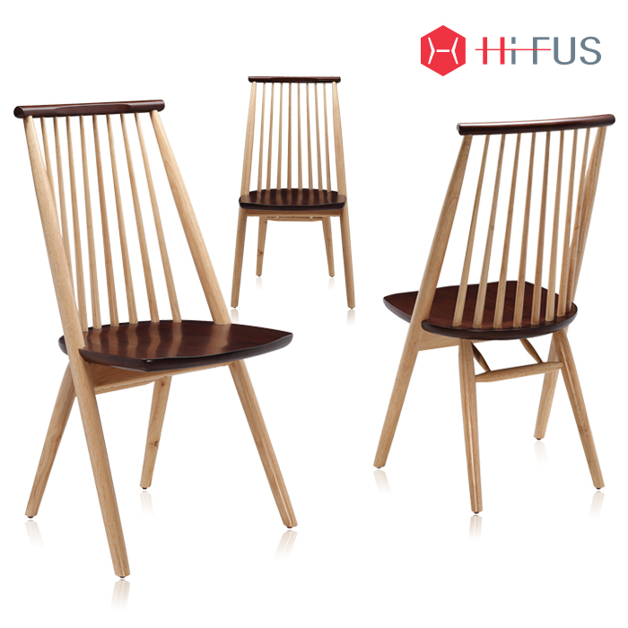 하이퍼스 HFC-2028 레더 원목 의자