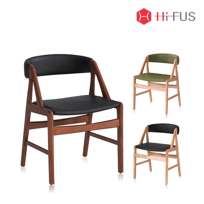 하이퍼스 HFC-2105 모카 원목 의자