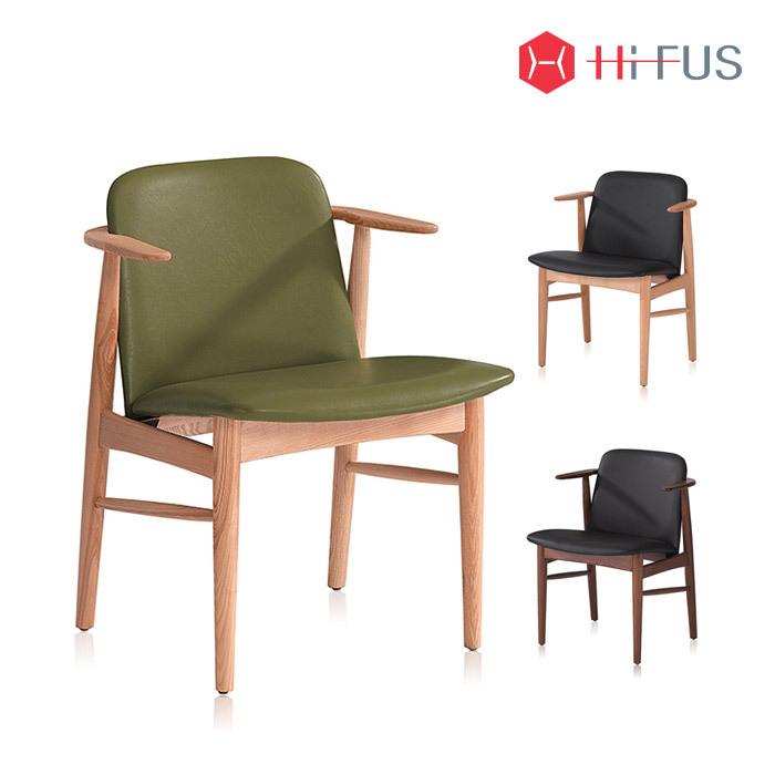 하이퍼스 HFC-2104 라떼 원목 의자