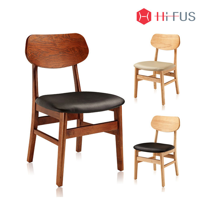 하이퍼스 HFC-2102 팬덤 원목 의자