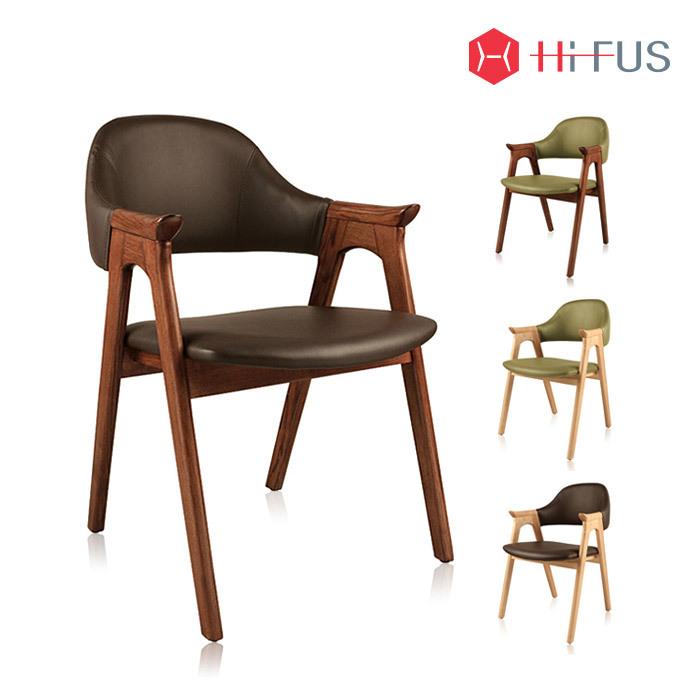 하이퍼스 HFC-2106 파코 플러스 원목 인조가죽 의자
