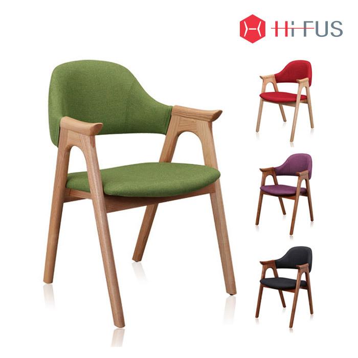 하이퍼스 HFC-2106 파코 플러스 원목 패브릭 의자