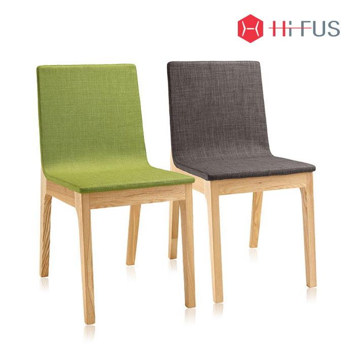 하이퍼스 HFC-1101 엘르 원목 패브릭 의자