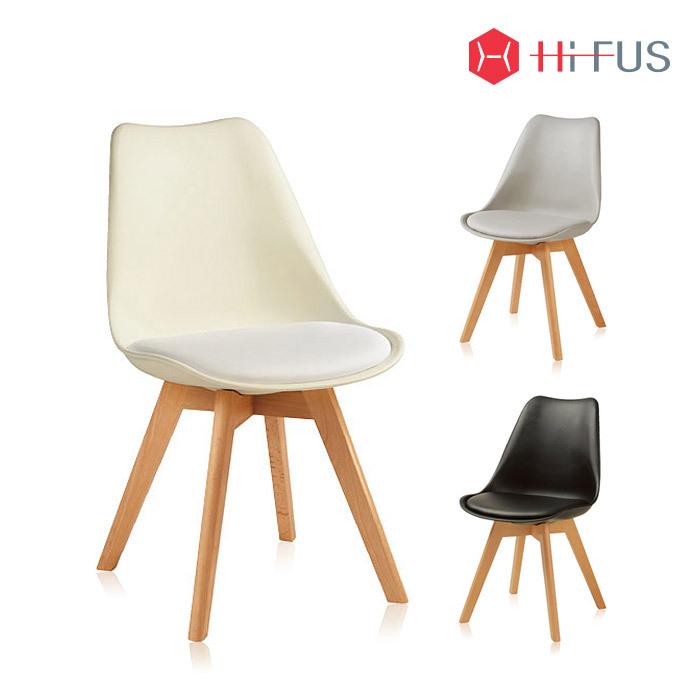 하이퍼스 HFC-3855 레몬 원목 의자