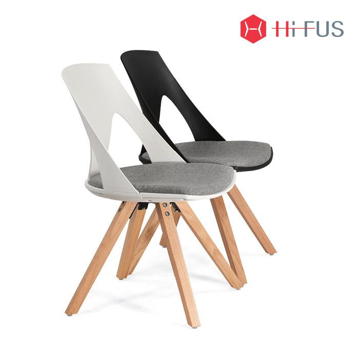 하이퍼스 HFC-7051 벨 원목 의자