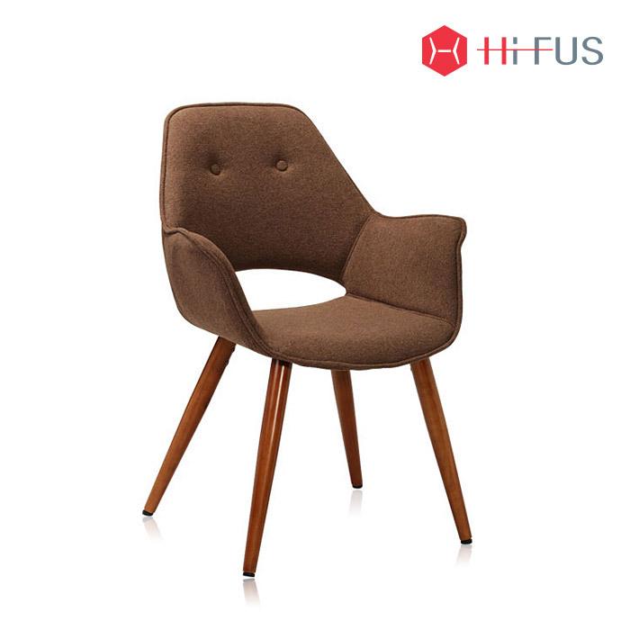 하이퍼스 HFC-2727 아만다 원목 패브릭 의자