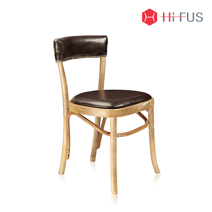 하이퍼스 HFC-2887 가나 빈티지 원목 의자