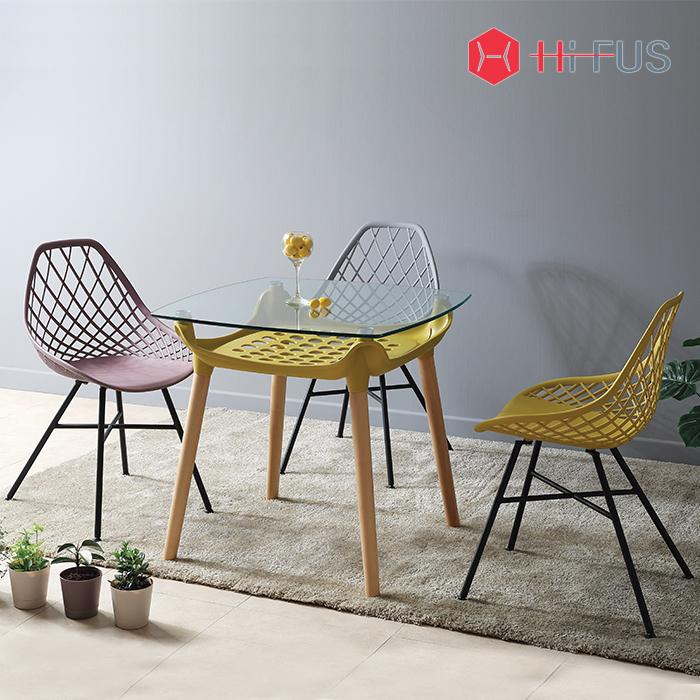 하이퍼스 HFC-8008 네트 플라스틱 의자