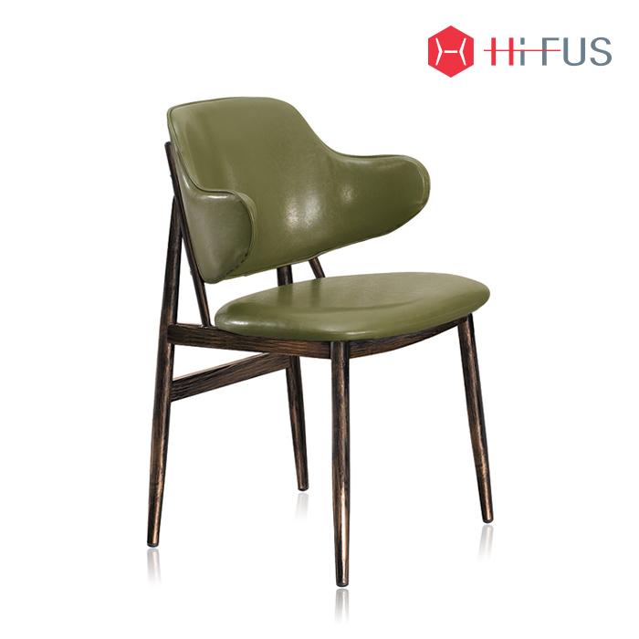 하이퍼스 HFC-1203 휠라 철재 인조가죽 의자