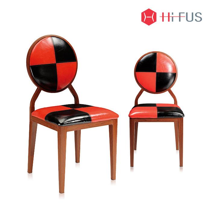 하이퍼스 HFC-1207 하이트 철재 A타입 가죽 의자