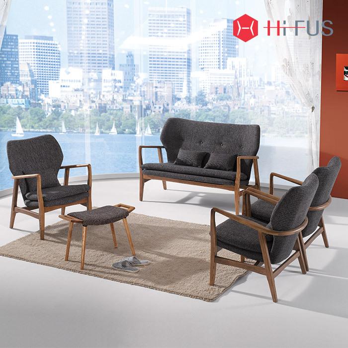 하이퍼스 HFS-3301 HFS-3302 루디 패브릭 원목 소파