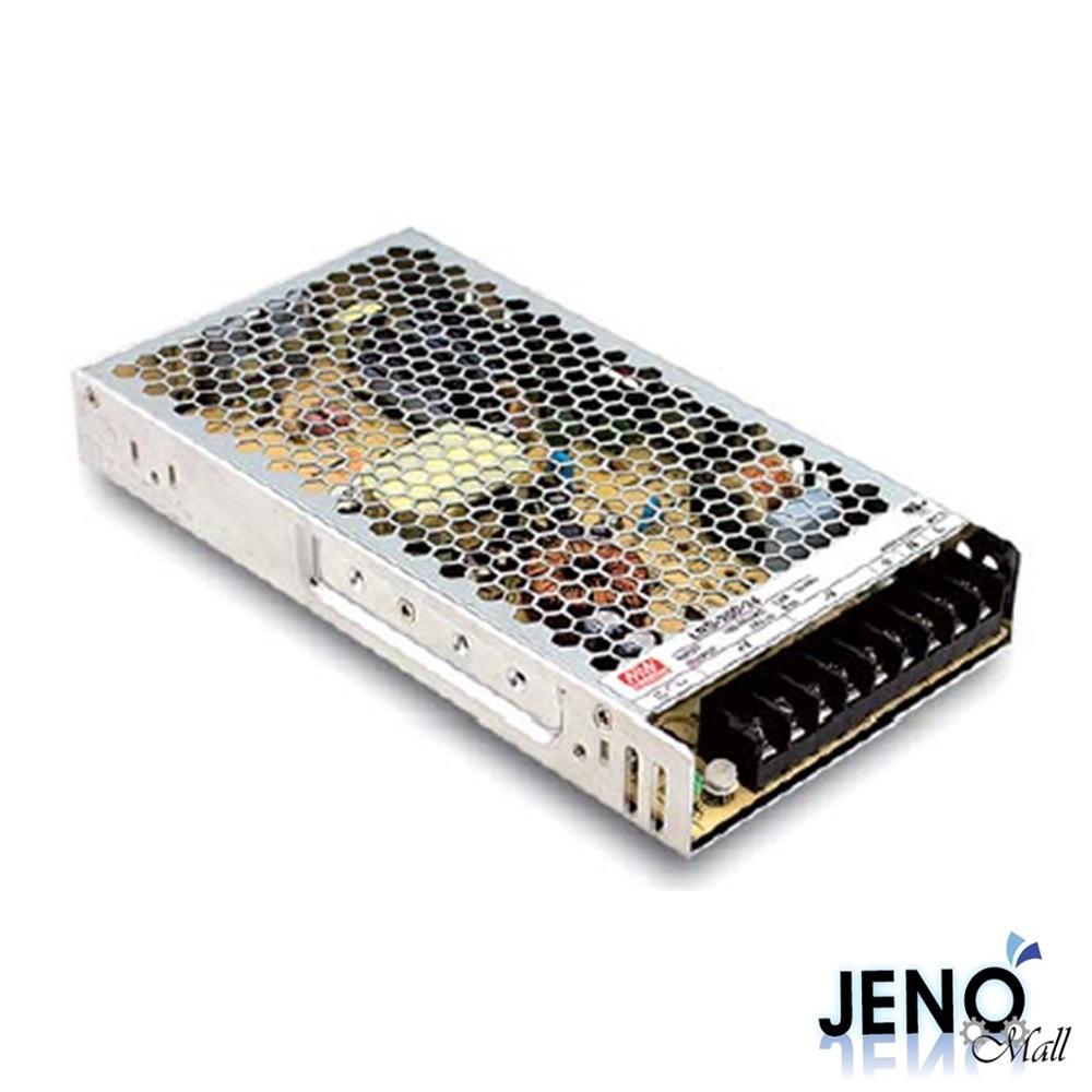 민웰 200W 24V 8.8A 1채널 DC 전원공급장치 스위칭 파워서플라이 SMPS (LRS-200-24)