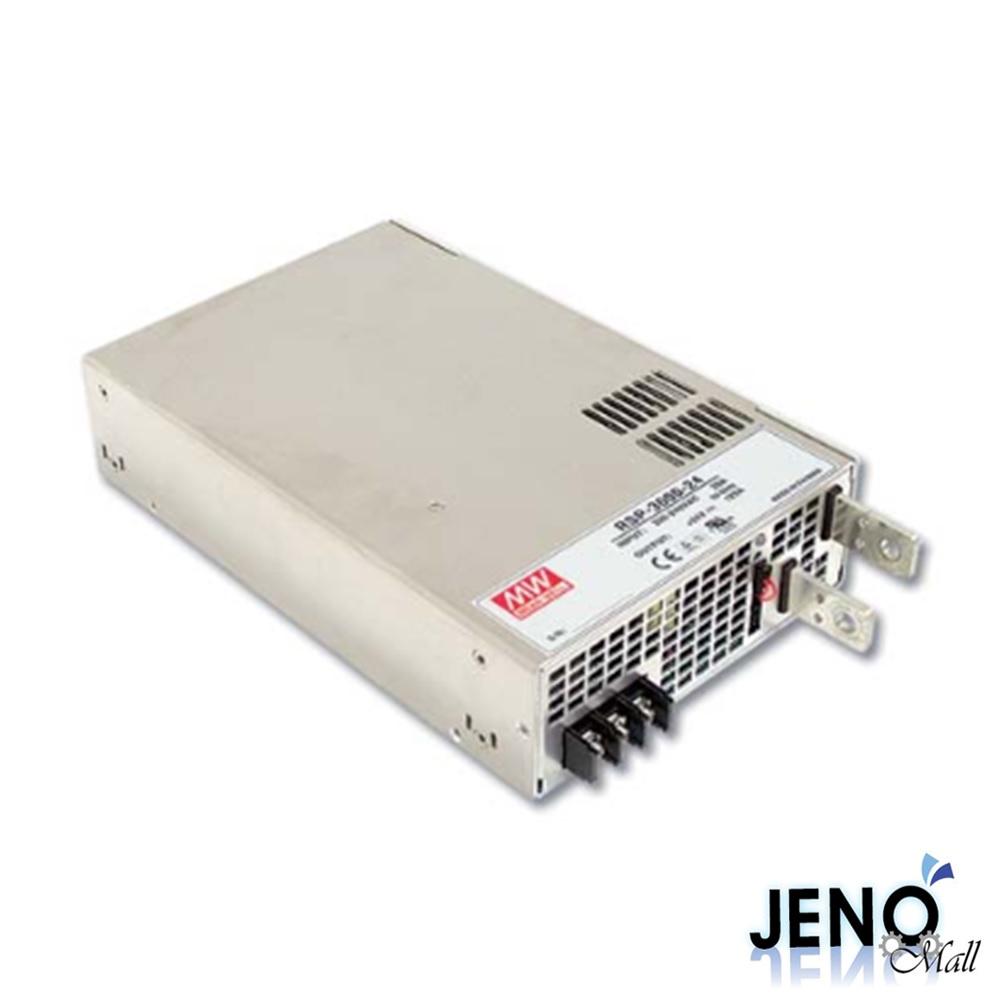 민웰 3000W 24V 125A 1채널 DC 전원공급장치 SMPS RSP-3000-24